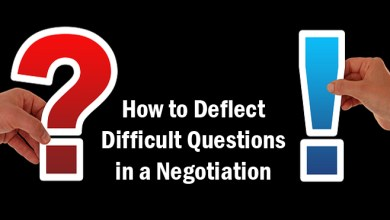Photo of How to Deflect Difficult Questions in a Negotiation
