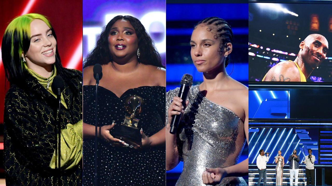 Grammy 2020 | Destaques para Billie Eilish, Lizzo e homenagens para Kobe Bryant – Confira os vencedores!