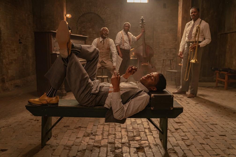 A Voz Suprema do Blues crítica filme Netflix Chadwick Boseman Viola Davis