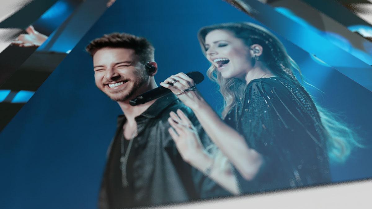 Sandy e Junior lança edição de luxo da turnê 'Nossa História'