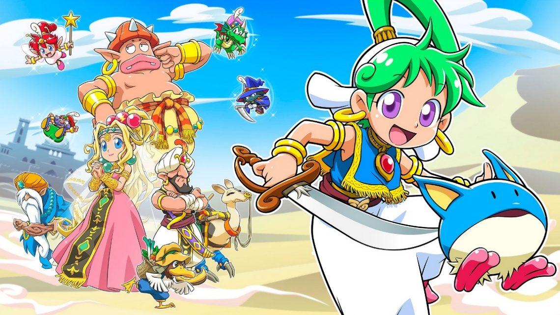 Wonder Boy: Asha in Monster World chega em 28 de Maio