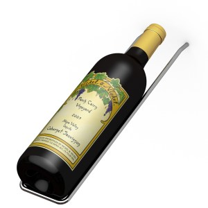 Max Reveal Display Metal Wine Rack