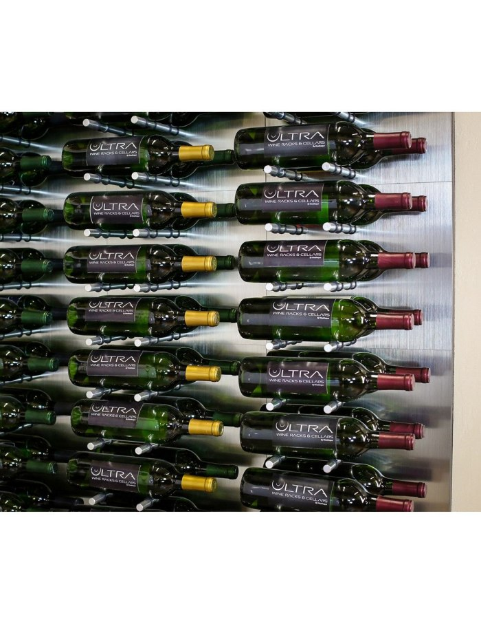 HZ Fusion Panel 2 Deep 6 Bottles AlumaSteel