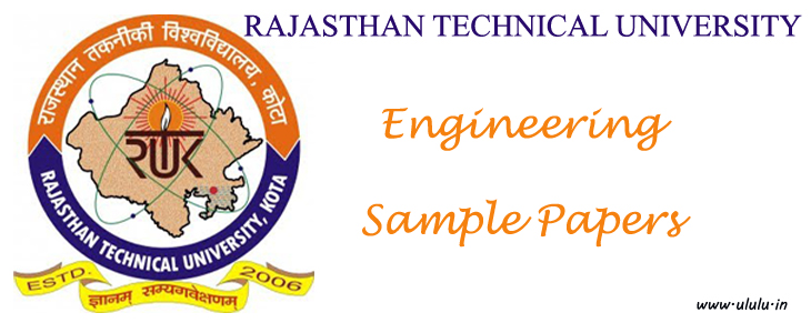 B Tech RTU Civil Engg  SOM-I Previous Year Question Papers