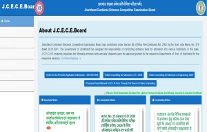 JCECEB Website Home Page