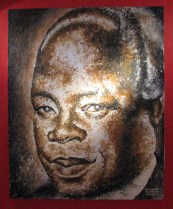 Josiah Gumede oil painting