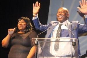 Zibokwakhe 'Phuzekhemisi' Mnyandu, LL Awardee & Buhle Shezi, sign language interpreter