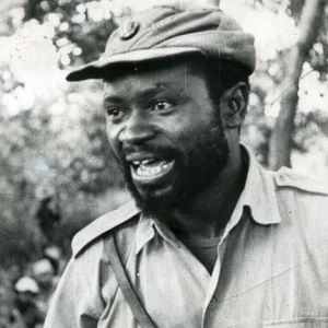 Samora Machel, photograph first published in 'The Sowetan'