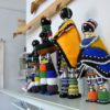Ndebele dolls at the Africa Craft Trust exhibition, June 2010