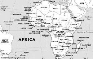 Mfecane Africa Map