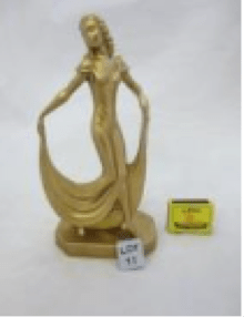 Figurine on auction at the Highway Hospice