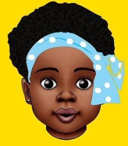 An ilustration of Baby Thando