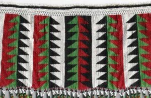 An antique beaded isigege