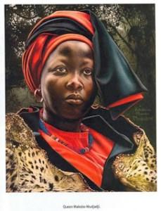 A portrait of Makobo Modjadji VI  (Rain Queen) 1978 – 12 June 2005