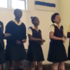 Learners at Inanda Seminary celebrating Human Rights Day, 2018