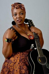 Singer and guitarist, Lizwi Mbatha