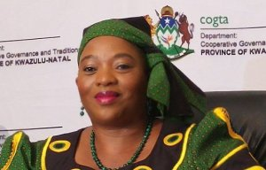 KZN MEC for COGTA, Nomusa Dube-Ncube