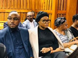 Wife of HHP, Lerato Sengadi, in court