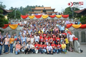 Grupo CiViUM en Wenzhou, China.
