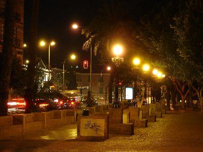 Contaminacion luminica en Murcia