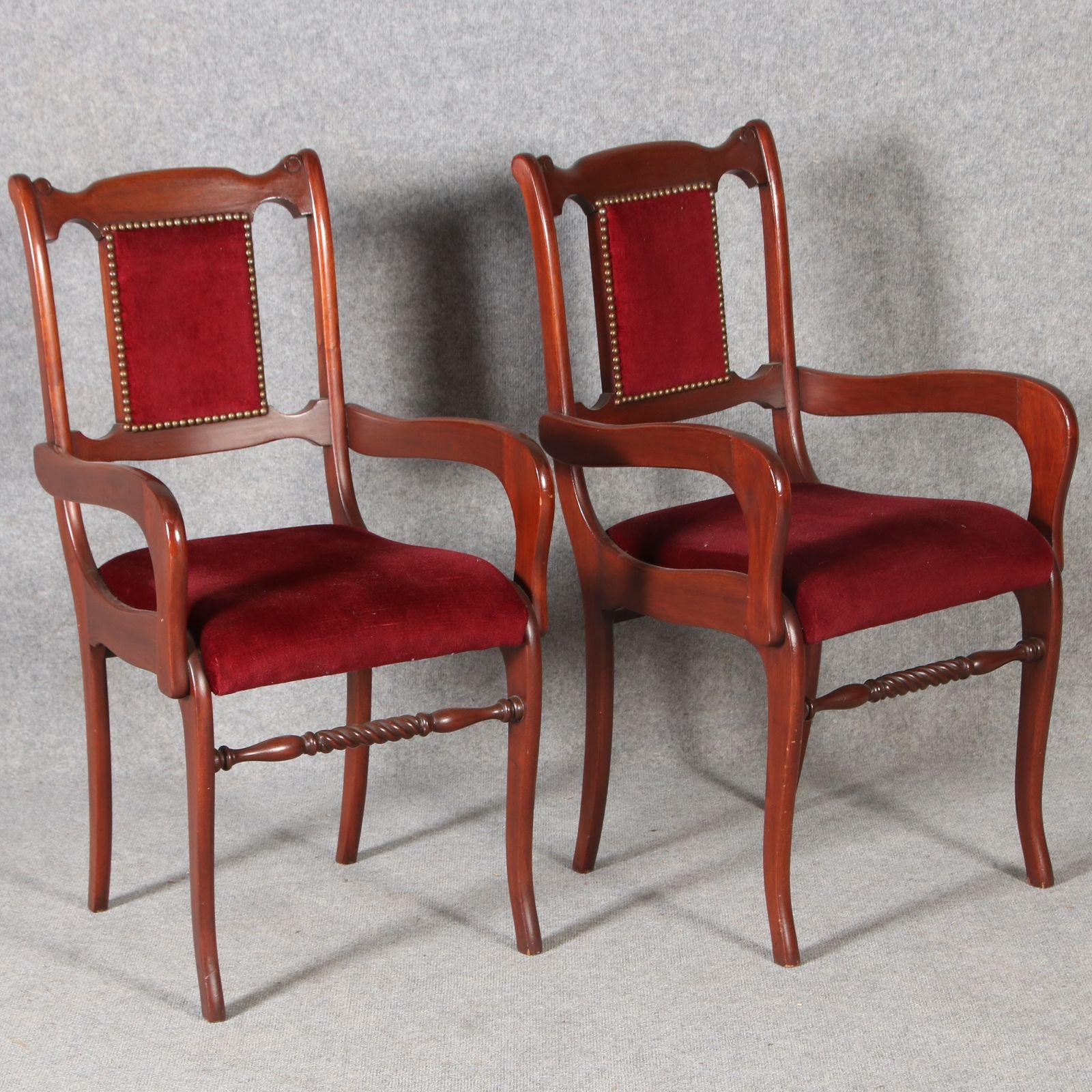 biedermeier sofa zu verkaufen council zwei armlehnstühle stil ebay