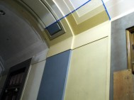 Paint color test - Outer lobby