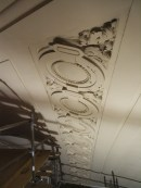 Close view of Medallions at Balcony Level