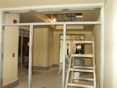 Sound and light lock area - Mezzanine