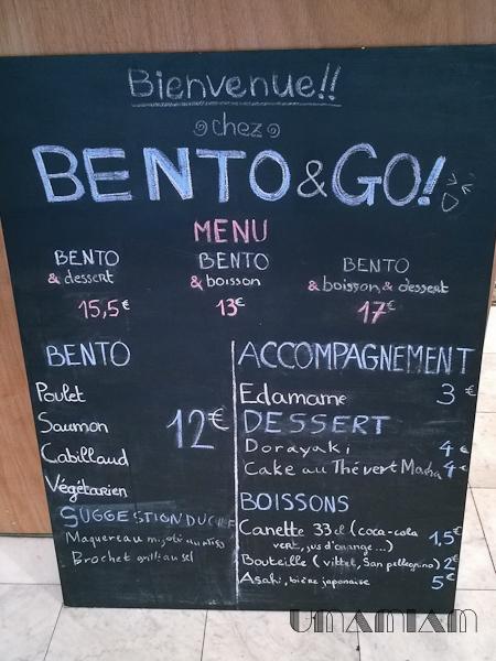 bento & go menu