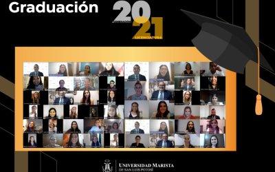 GRADUACIÓN LICENCIATURA GENERACIÓN 2021