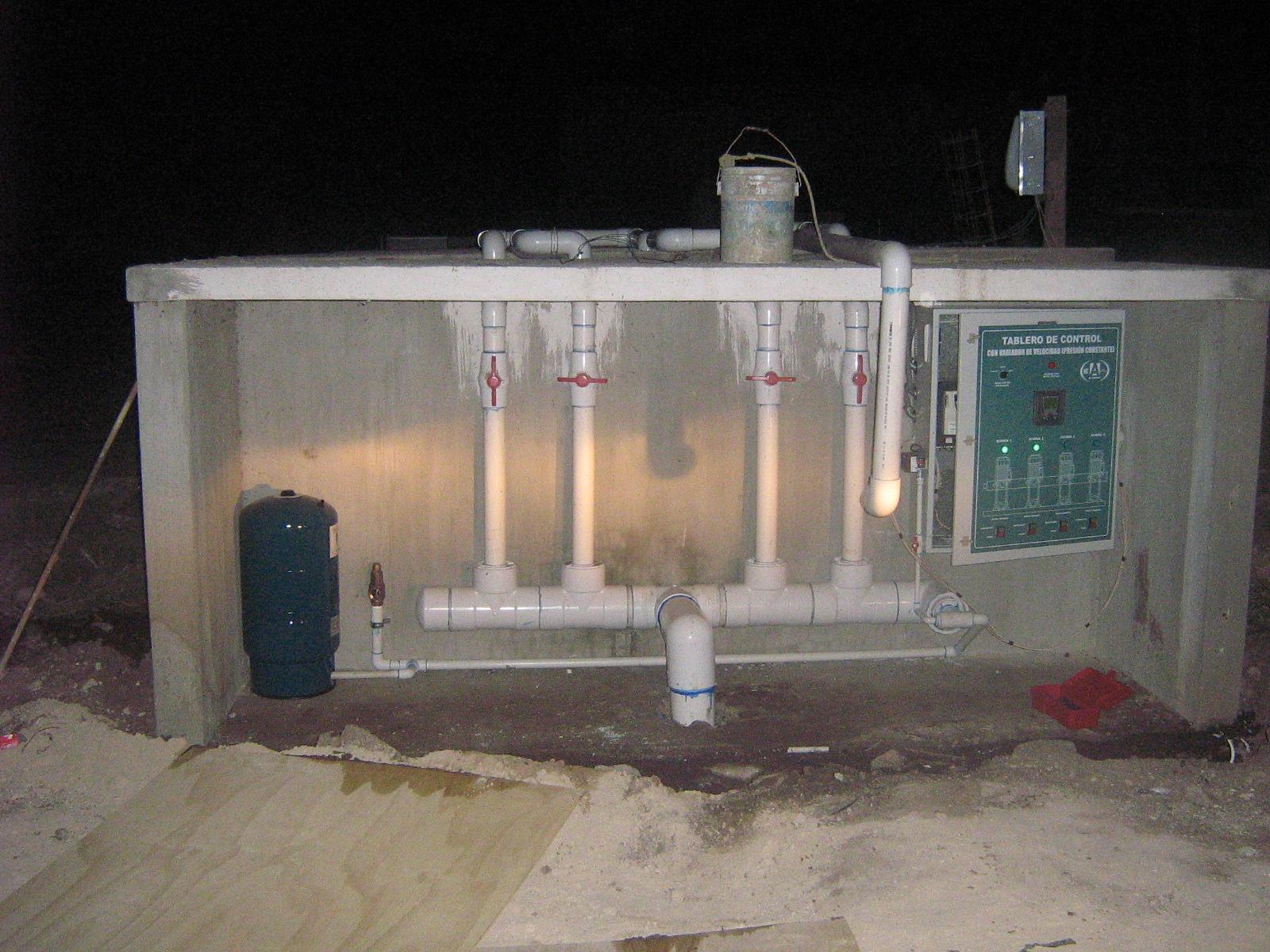 Albercas Fuentes  Bombeo Tratamiento de agua