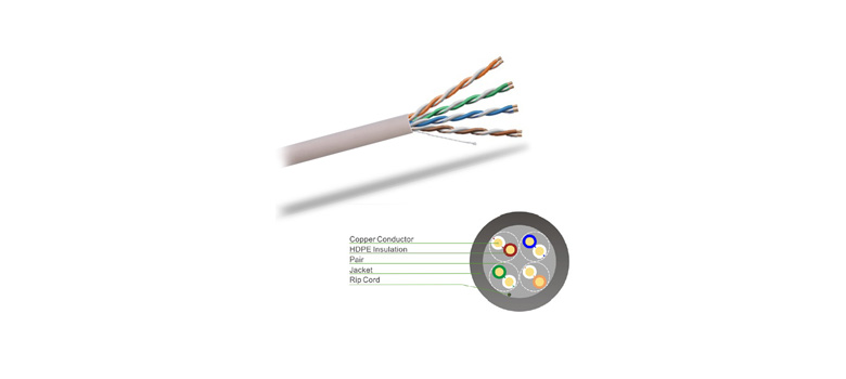 High Quality Cat5E U/UTP Unshielded Network Cable UMNW1001