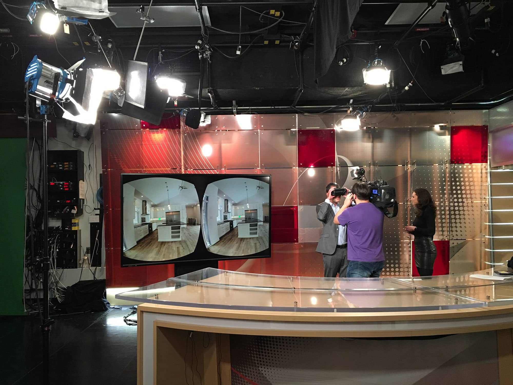 Umber Realty Inc. at CBC behind the scenes