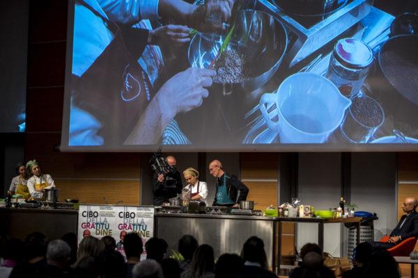 IL CIBO DELLA GRATITUDINE  SHOW COOKING  Dott Trecroci
