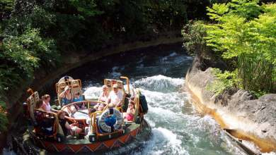 Um bilhete, por favor. Kali River Rapids do Animal Kingdom fechará para reformas