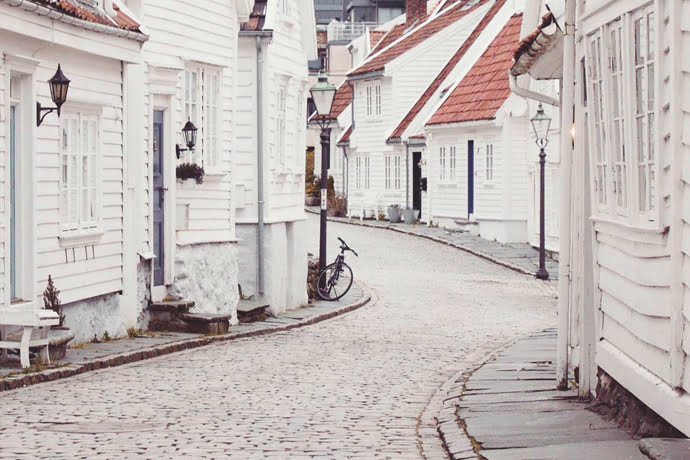 Exploring The Streets Of Norway