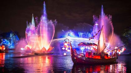 Disney mostra como será o novo show Rivers of Light | Um bilhete, por favor.