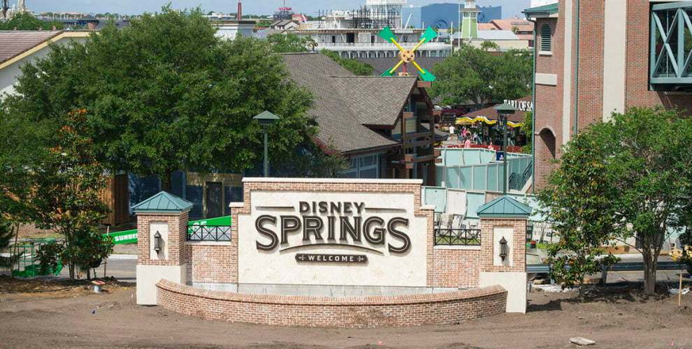 Disney Springs inaugura o novo Town Center