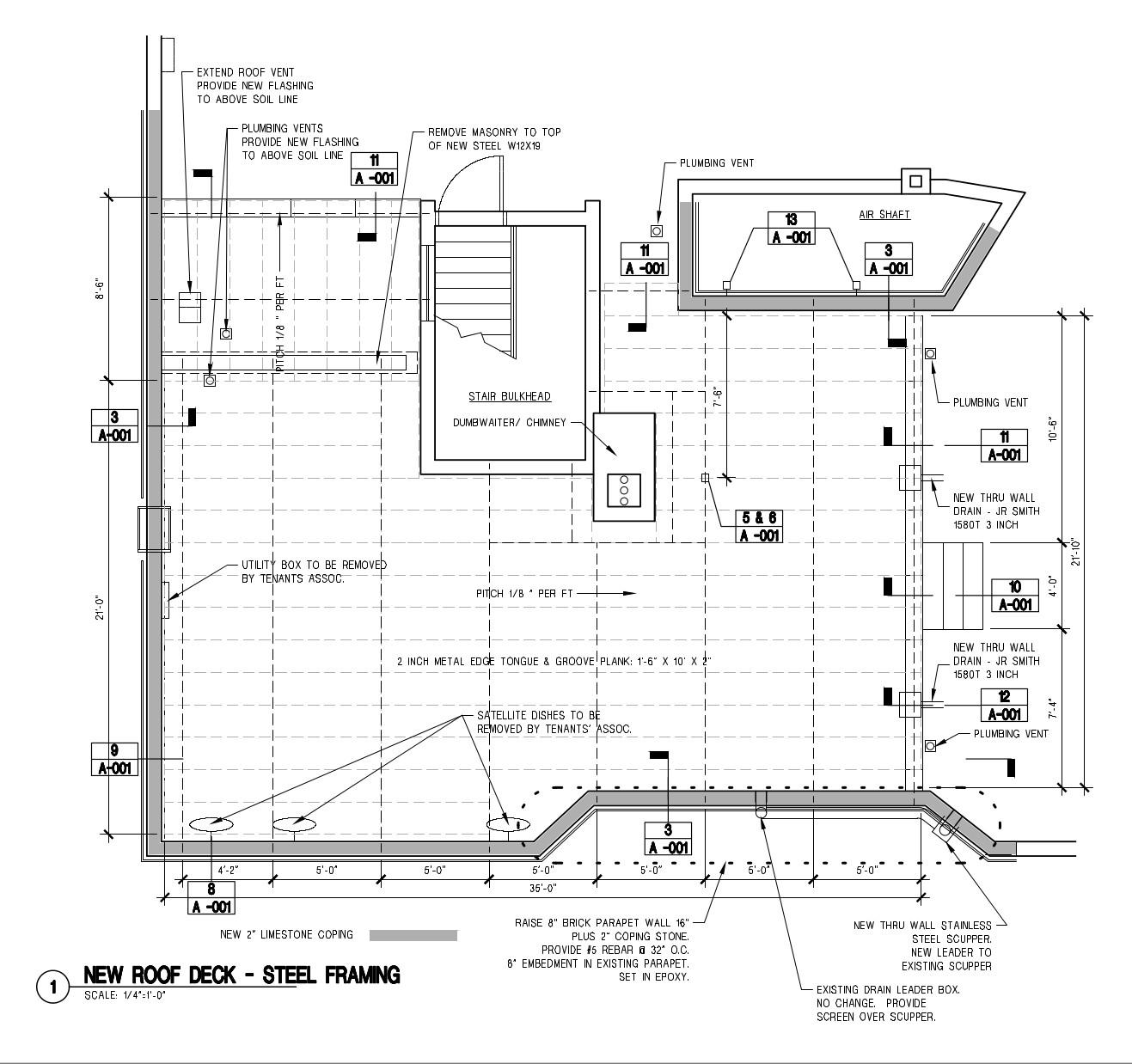 Exterior Deck Schematic