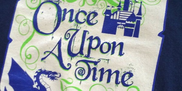 Once Upon A Time screen printed tee