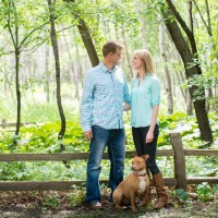 Engagement session in Fridley