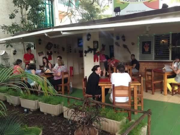 Cuba attractions  Restaurant Nonna Tina