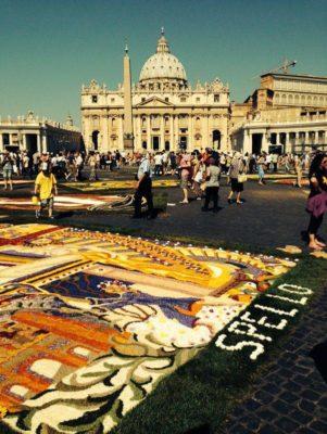 infiorata roma