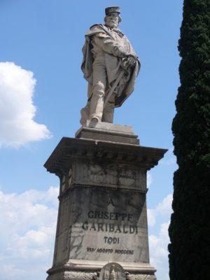 monumento a garibaldi todi