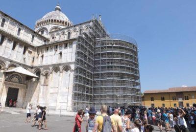 Pisa: terminato il restauro dell'abside della cattedrale
