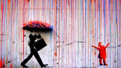 pioggia di colori