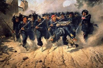 carica dei bersaglieri dipinto trafugato dai nazisti