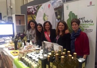 L'olio extravergine umbro al Golosaria di Milano