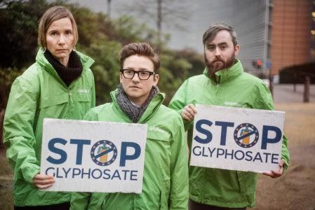 greenpeace stop glifosato