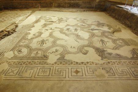 mosaici siti archeologici spello